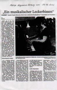 Alzeyer Zeitung vom 15.06.2012